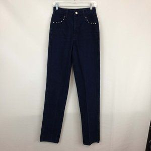 Rough Rider Vintage High Waist Bareback Jeans, 7/8